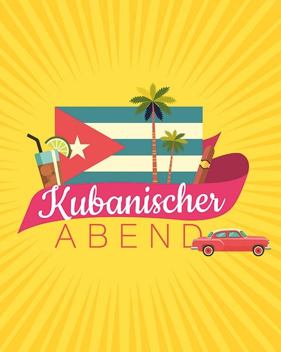 Der kubanische Abend als exotische Betriebsfeier