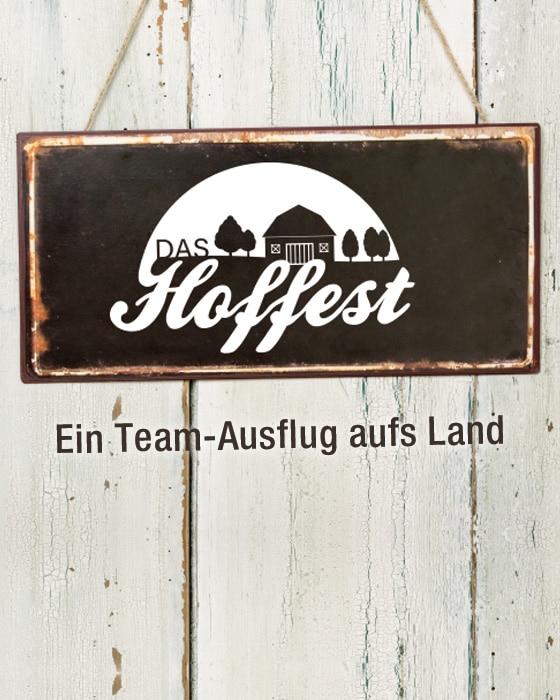 Hoffest - Gemeinsame Auszeit vom Büroalltag