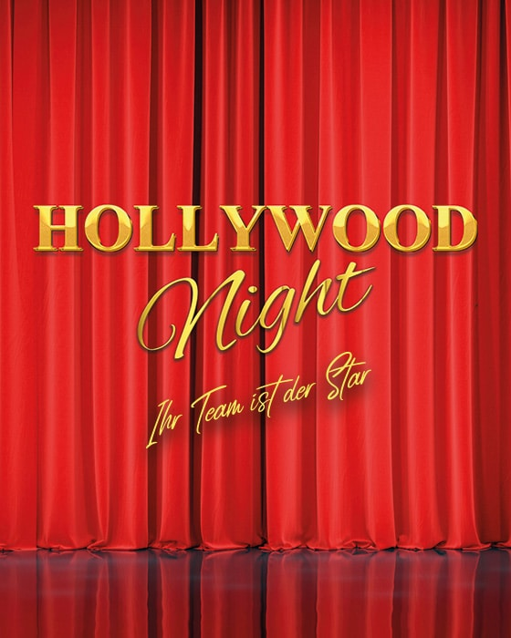 Hollywood Night - Das glamouröse Firmenevent