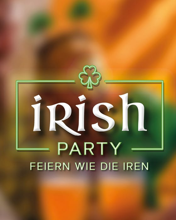 Irish Party - Die Firmenfeier für Irland-Fans!