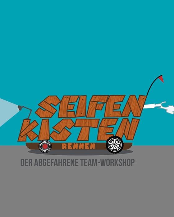"""Firmenevent: """"Seifenkistenrennen"""" Abgefahrener Rennspaß"""