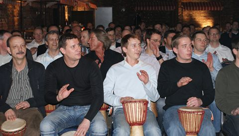 Drum-Workshop - Trommeln für den Teamgeist