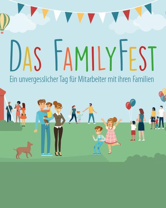 FamilyFest - Ein unvergesslicher Tag für Mitarbeiter mit ihren Familien
