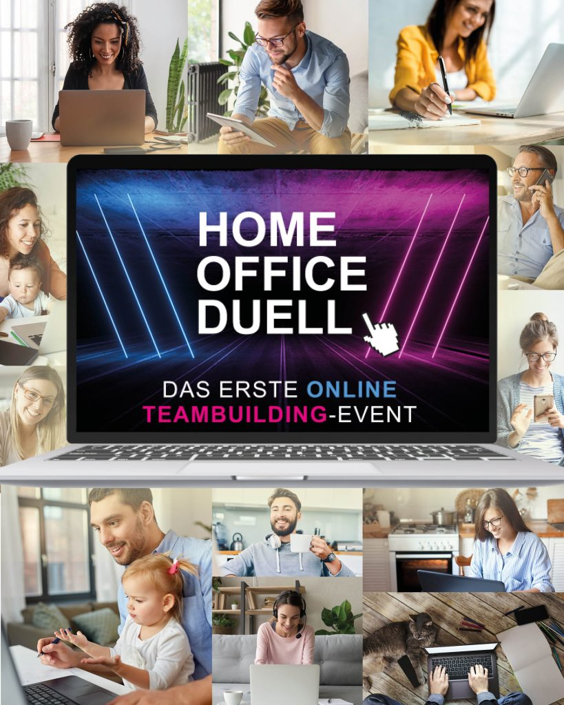 Home Office Duell - Deutschlands erster Online-Teambuilding-Event