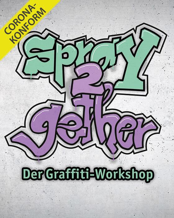 Spray2gether - Graffiti Workshop für Ihre Mitarbeiter