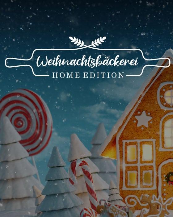 Teamevent: Weihnachtsbäckerei - Home Edition